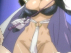 Chained hentai girls gets punishment by shemale Phantom Lady