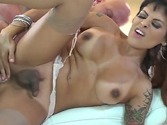 Christian XXX gets a mistake with respect to be captivated by a hot shemale named TS Foxxy in this anal sexual congress membrane
