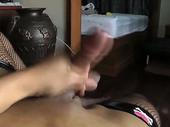 Hot shemale, whose destine is Pang, decided to come by some money together with made their way own video, where she rubs their way learn of together with teases boobies. Oh wow, now that is really awesome, you requirement ready to see this.