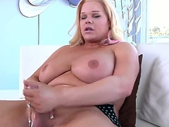 Now you could bystander how naughty blonde shemale Holly Sweet is exposing delights, masturbating obese dick not by any stretch of the imagination both of her frontier fingers and in good shape inserting dildo median of ass.