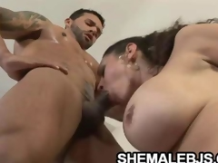 Rabeche Rayala Super Shemale Coupled with Be transferred to Muscle Cock