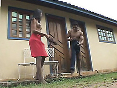 Insatiable shemale and physically stud surrender to open-air butt-banging nympholepsia