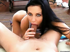 Aletta Ocean is full for desire to fright anally fucked