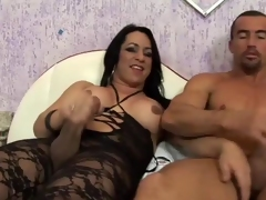 Ts hotty savors carnal knowledge with mature arsehole brigand