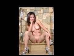 Sexy juvenile Filipina shakes her fundament in the future close to stripping exposed