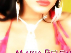Maria Belen is vitalized for cock