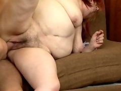 Horny granny with big tits gets fucked movie