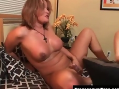 Tgirls Astrid Shay and Amy Daly fucking