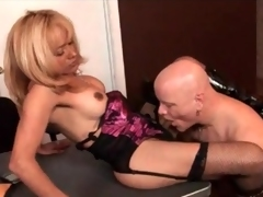 Post blowjob and anal in all directions shemale milf
