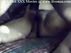 Indian Hairy Pussy Fucked On the Bed By The Hubby